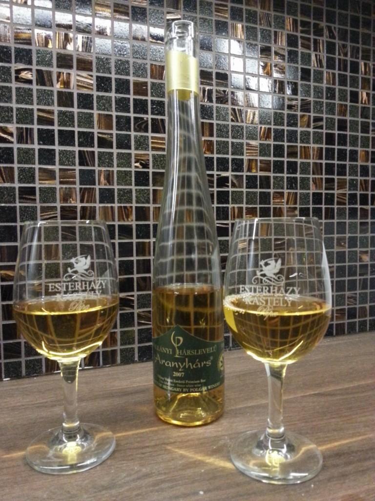 Első pohár bor a házban